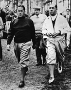 Bobby Jones & Walter Hagen